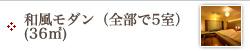 和風モダン(36㎡)